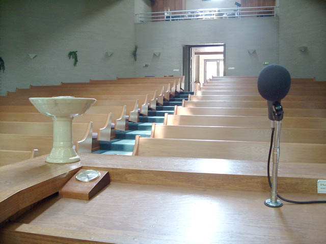 Sanctuary - View from Pulpit