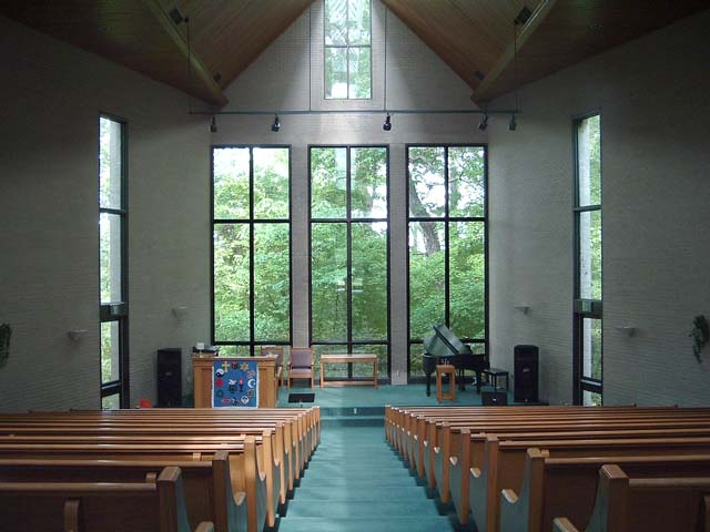 Sanctuary - View from Rear