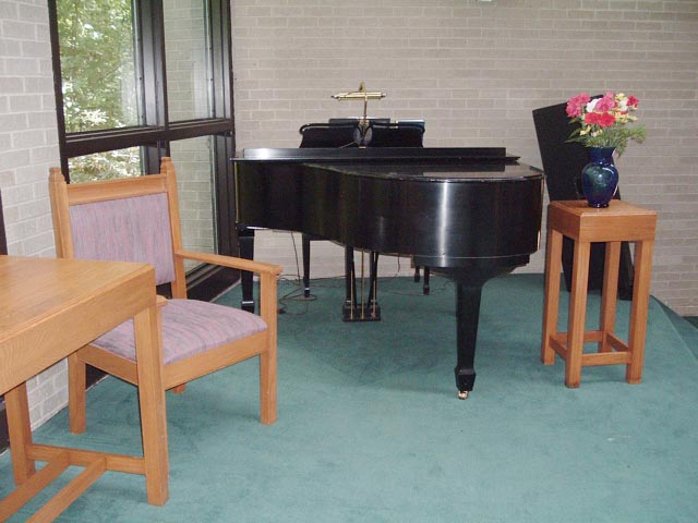 Sanctuary - View of Piano