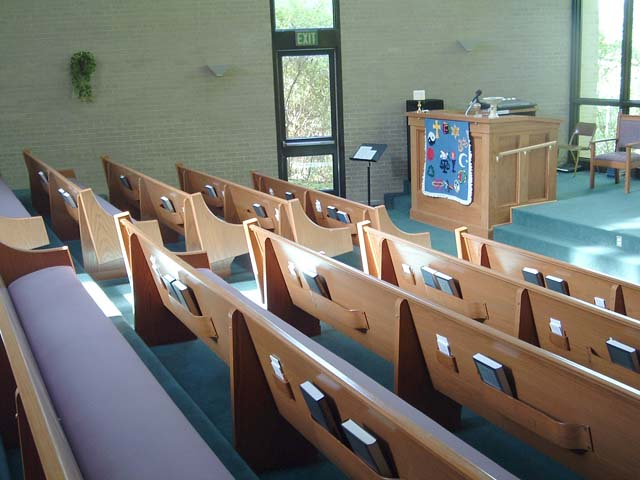 Sanctuary - View of Pews